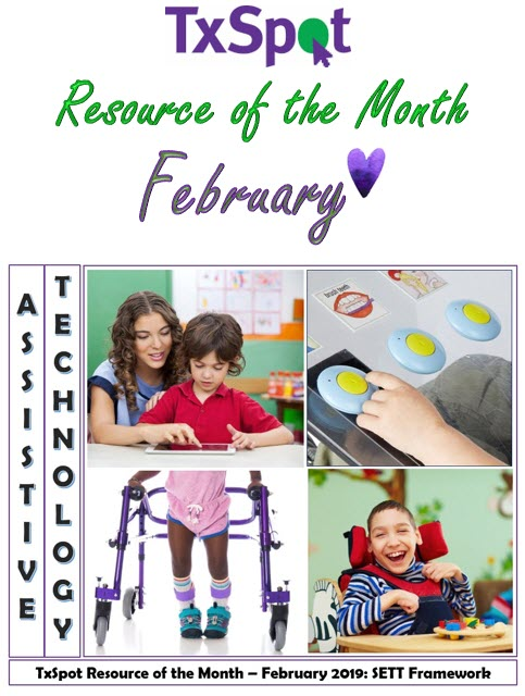 Txspot School Based Therapy Resourcemonth